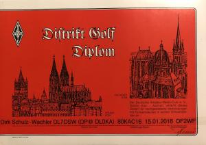 Distrikt G Diplom 2018