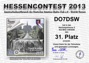 Hessencontest 2013 70cm