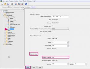 Screenshot 3 für Anleitung HYT PD785G für GPS Einstellungen für APRS